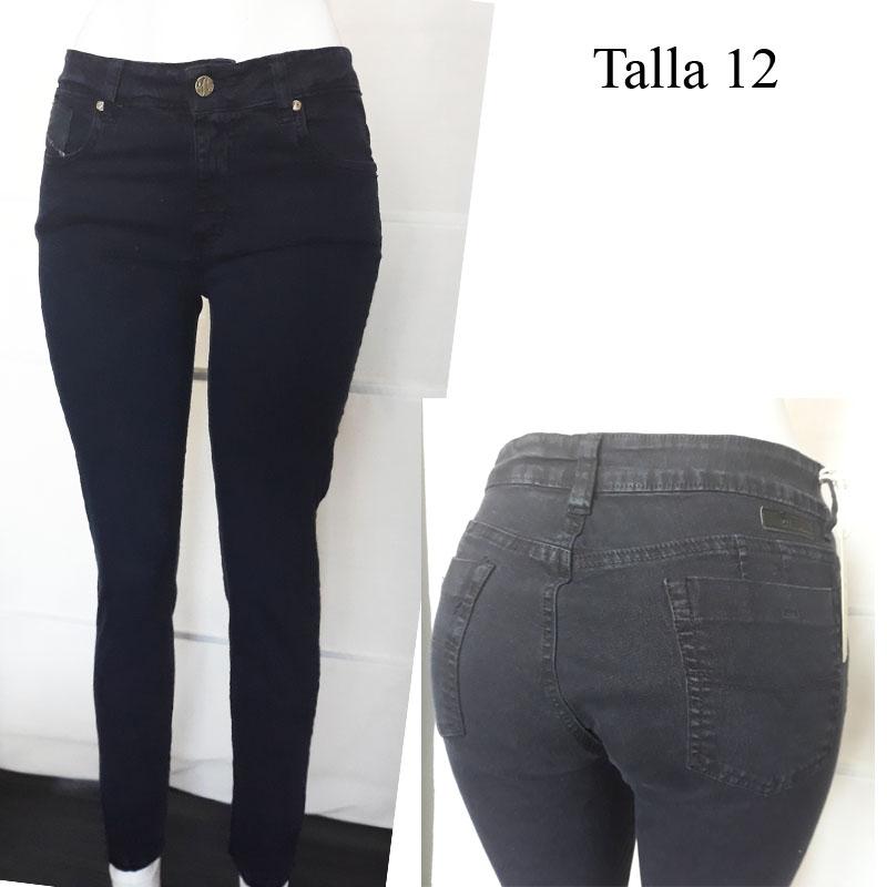 Jeans Colombien Push Up Taille 12 38 40 Fr Diesel Bleu Foncé Latina Beauty Waist Cinchers